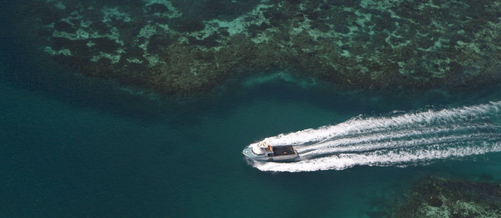 Boating in the Abrolhos