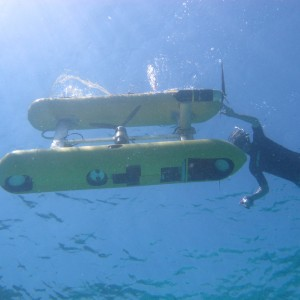 AUV from underwater