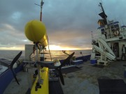Challenger boat and AUV